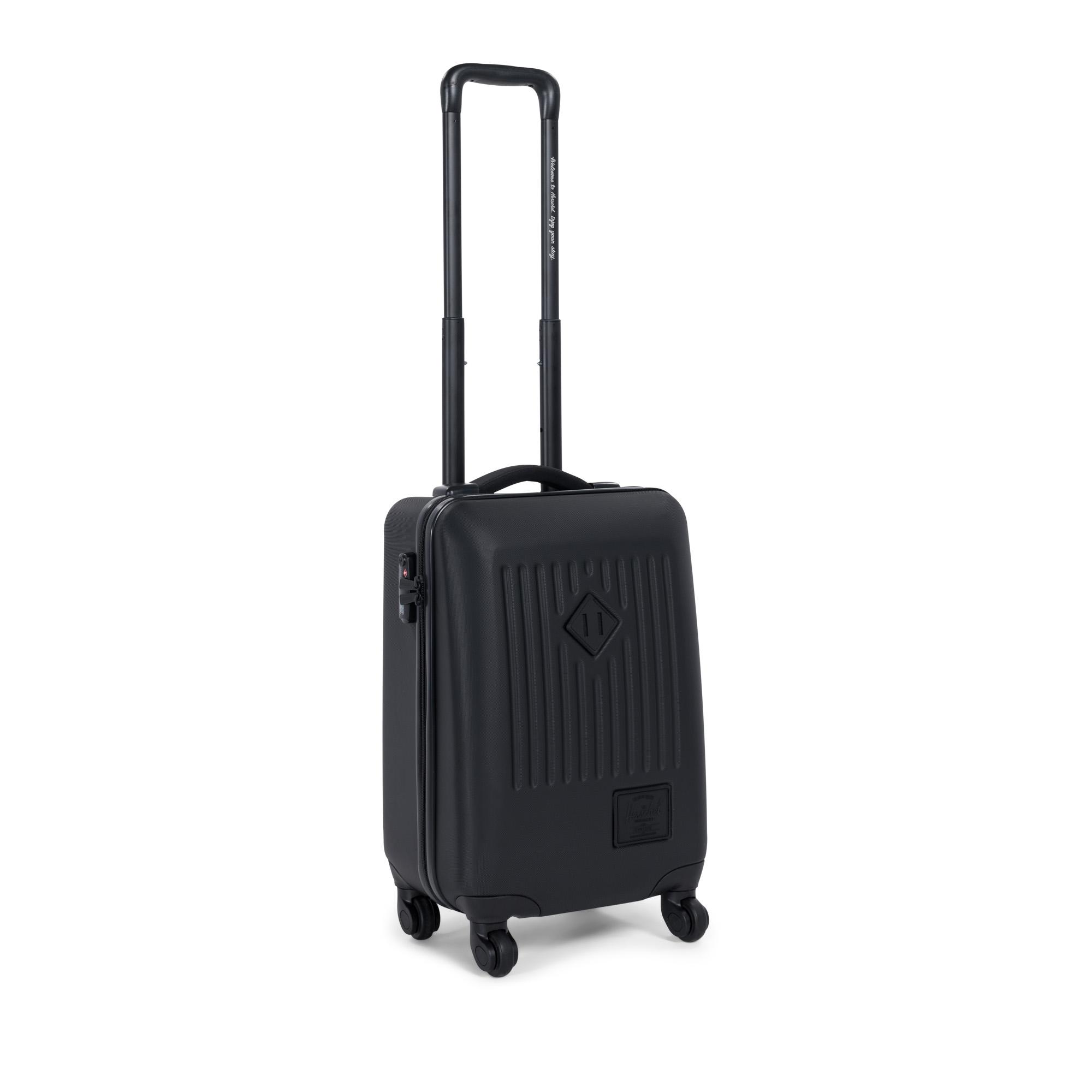 Herschel Koffer Rollkoffer Hartschalenkoffer Trade Carry on Travel Black 10336-01587 F18-HT1