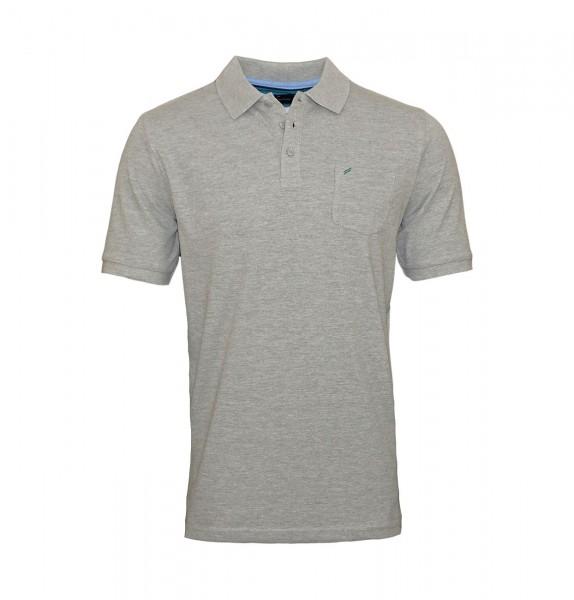 Daniel Hechter Poloshirt Polo T-Shirt 75028 191915 920 grey WF19-DHP1