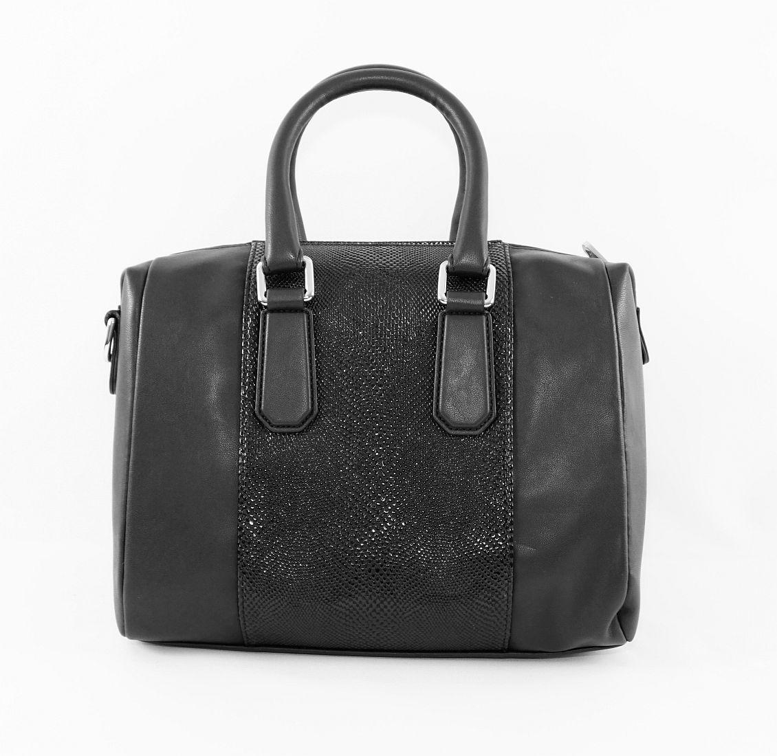 Armani Jeans Handtasche Shopper Tasche WOMEN'S BOSTON BAG 922062 6A725 00020 Nero HW16-1
