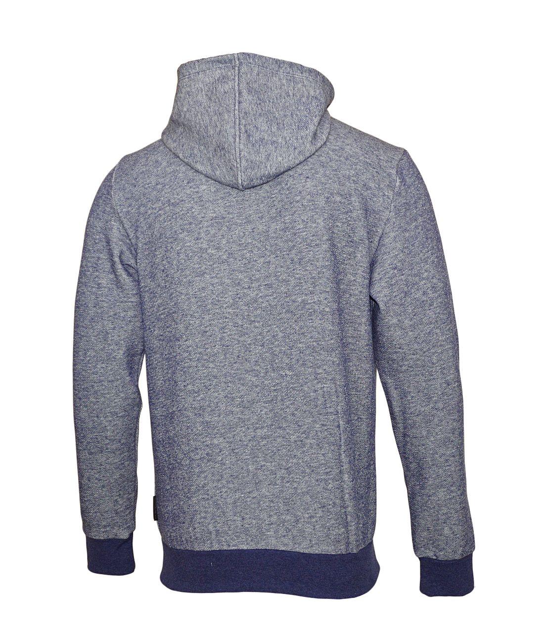 Emporio Armani Sweater Hooded m. Reißverschluss 111666 8A575 52635 BLU MELANGE SH18-EAS1