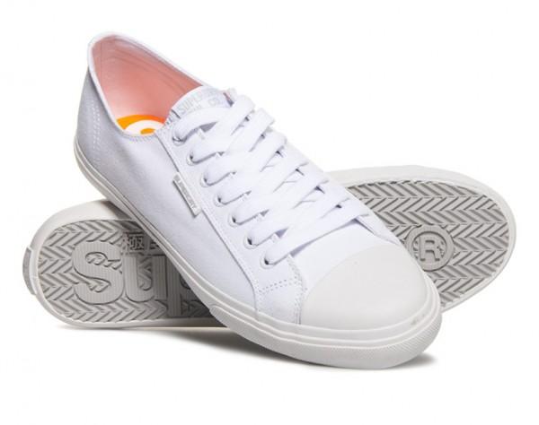 Superdry Herren Low Pro Sneaker MF1007NS White WJ-19-SPHX