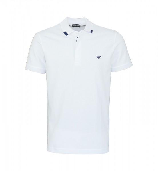 Emporio Armani Polo Poloshirt 211804 9P461 00010 White WF19-EAP1