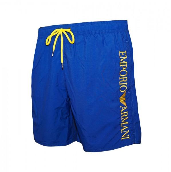 Emporio Armani Badeshorts Boxer 211740 9P422 15734 washed blue SS19-EAB3