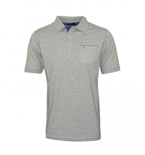 Daniel Hechter Polo Poloshirt 75022 191914 920 Grey WF19-DHP1