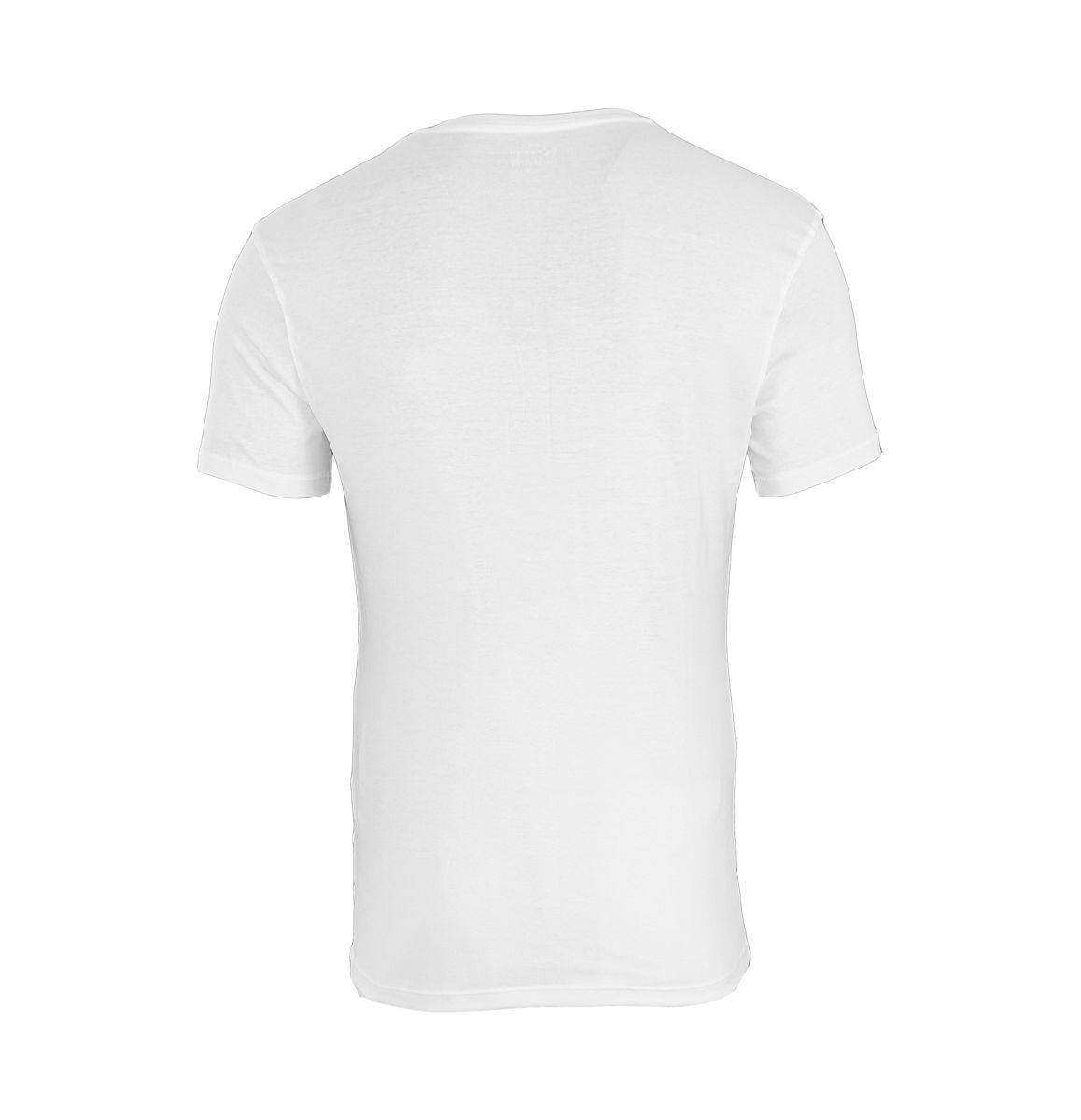Calvin Klein T-Shirt Tee-Shirts CK16 U8321A V-Ausschnitt weiss
