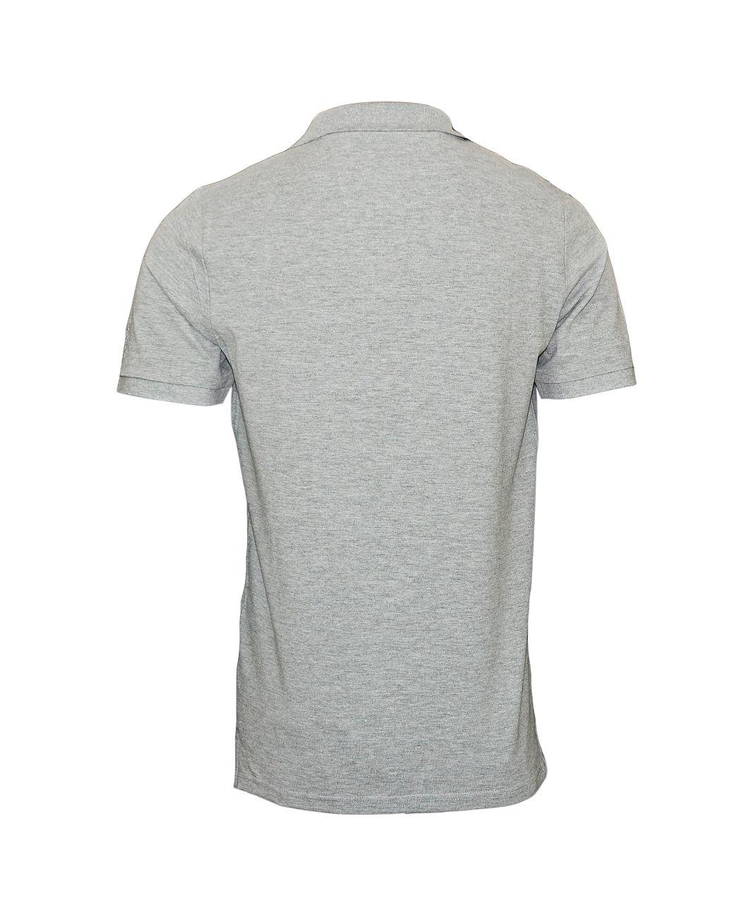 Daniel Hechter Poloshirt Polohemd 75021 181921 910 grau F18-DHP1