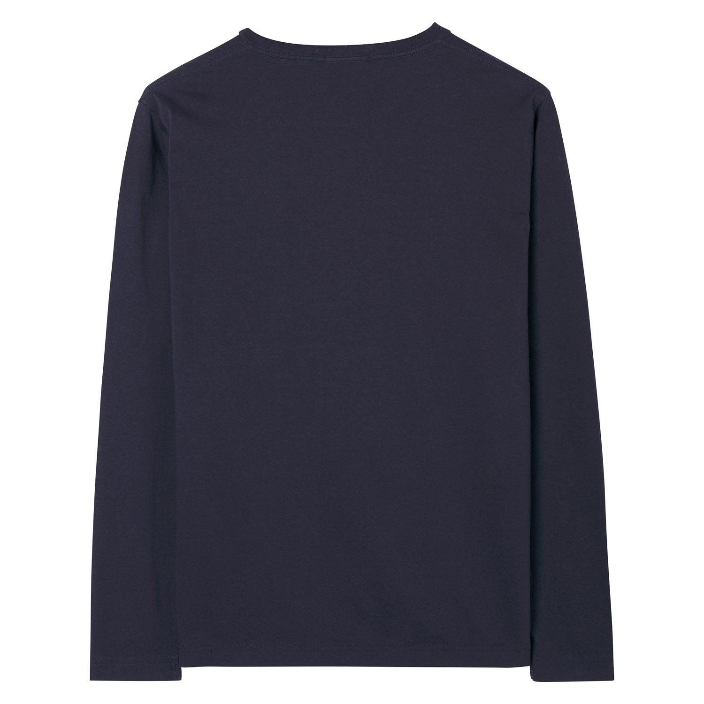 Gant Pullover THE ORIGINAL LS T-SHIRT Rundhals 234502 EVENING BLUE SH18-GP3