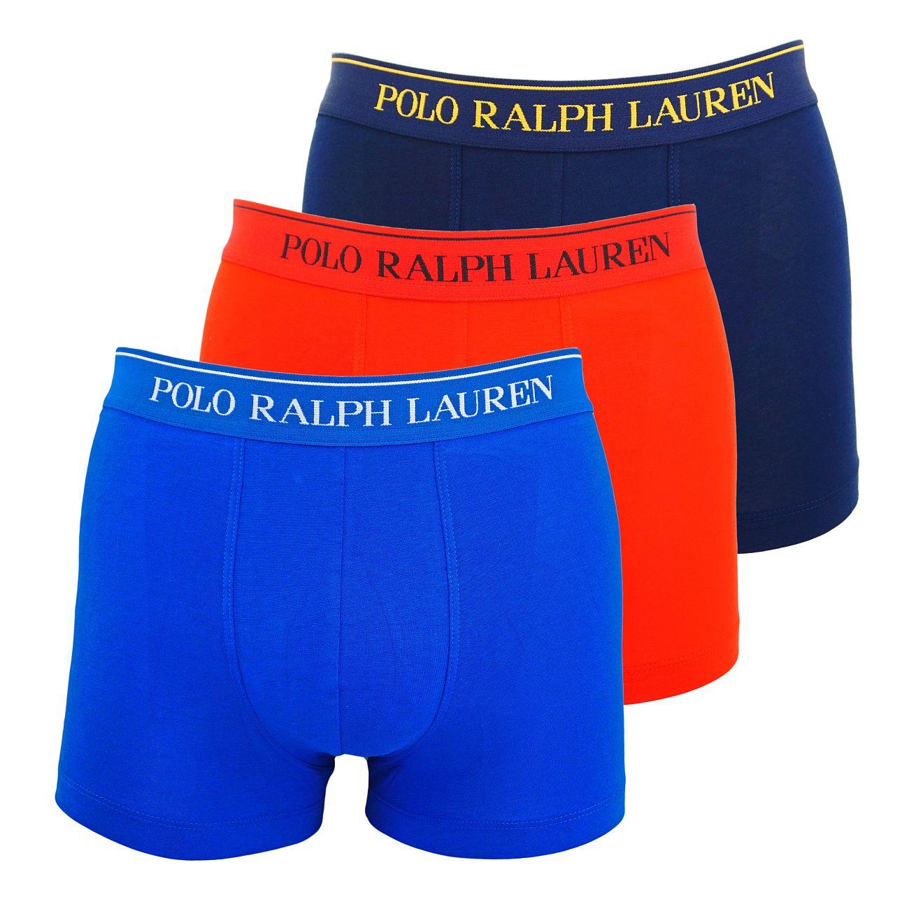 Ralph Lauren 3er Pack Classic Trunks Multicolor 714662050024 S18-RLT1