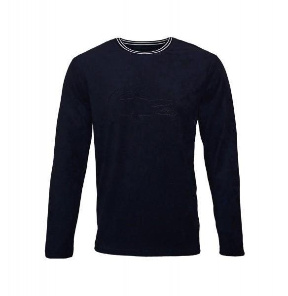 Lacoste Pullover Sweater Crew-Neck 169635 804 nightblue HW19-LC2