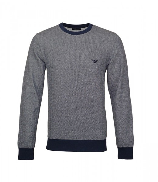 Emporio Armani Pullover Sweater Rundhals 111785 9P572 00135 navy WF19-EAP1