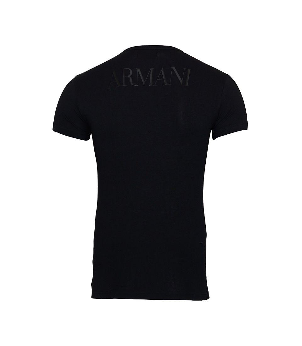 Emporio Armani Shirts T-Shirt 111035 CC716 00020 schwarz S17-EATX1