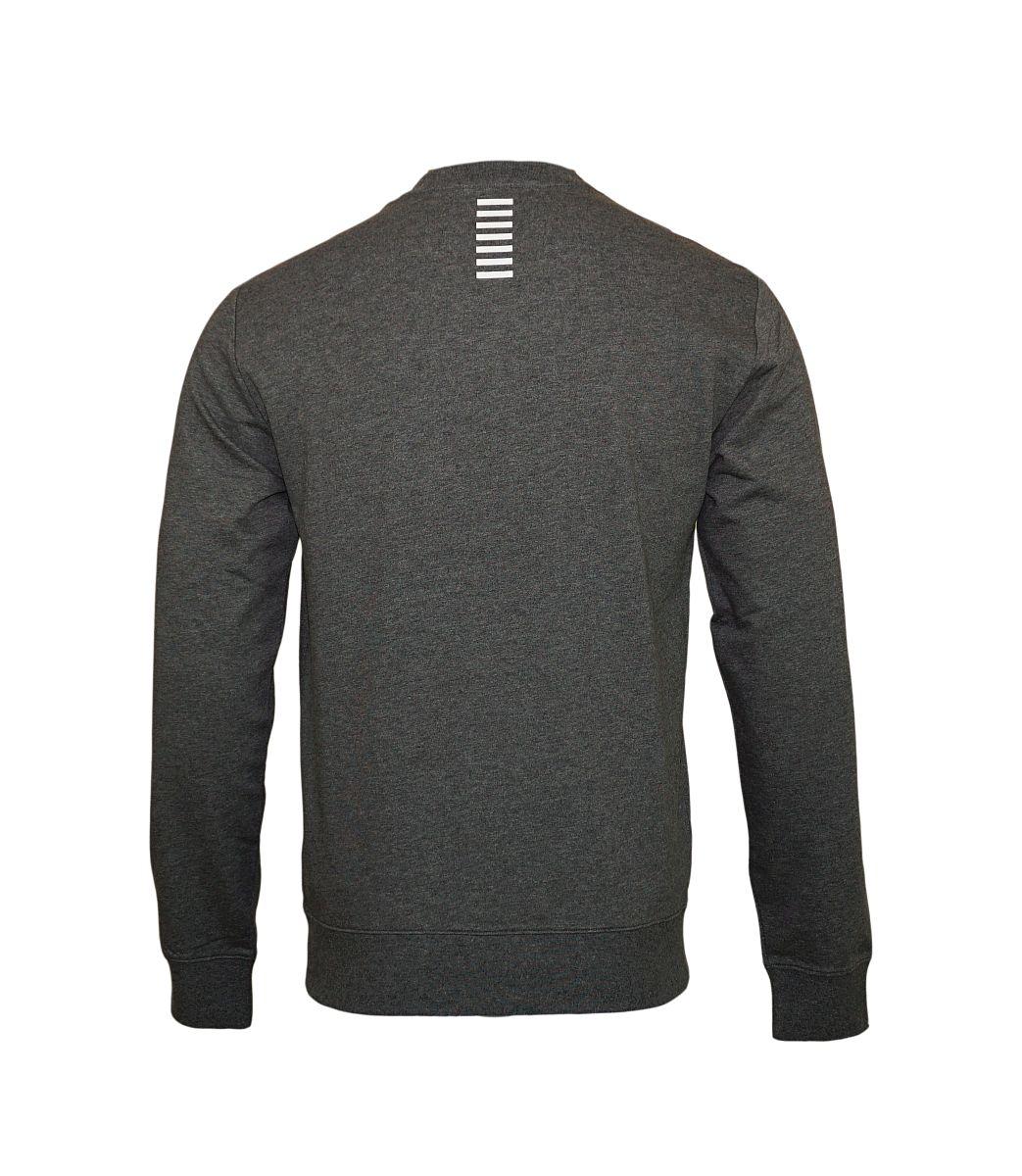 EA7 Emporio Armani Sweatshirt Pullover 6YPM52 PJ05Z 3925 Dark Grey Melange HW17-EASS1