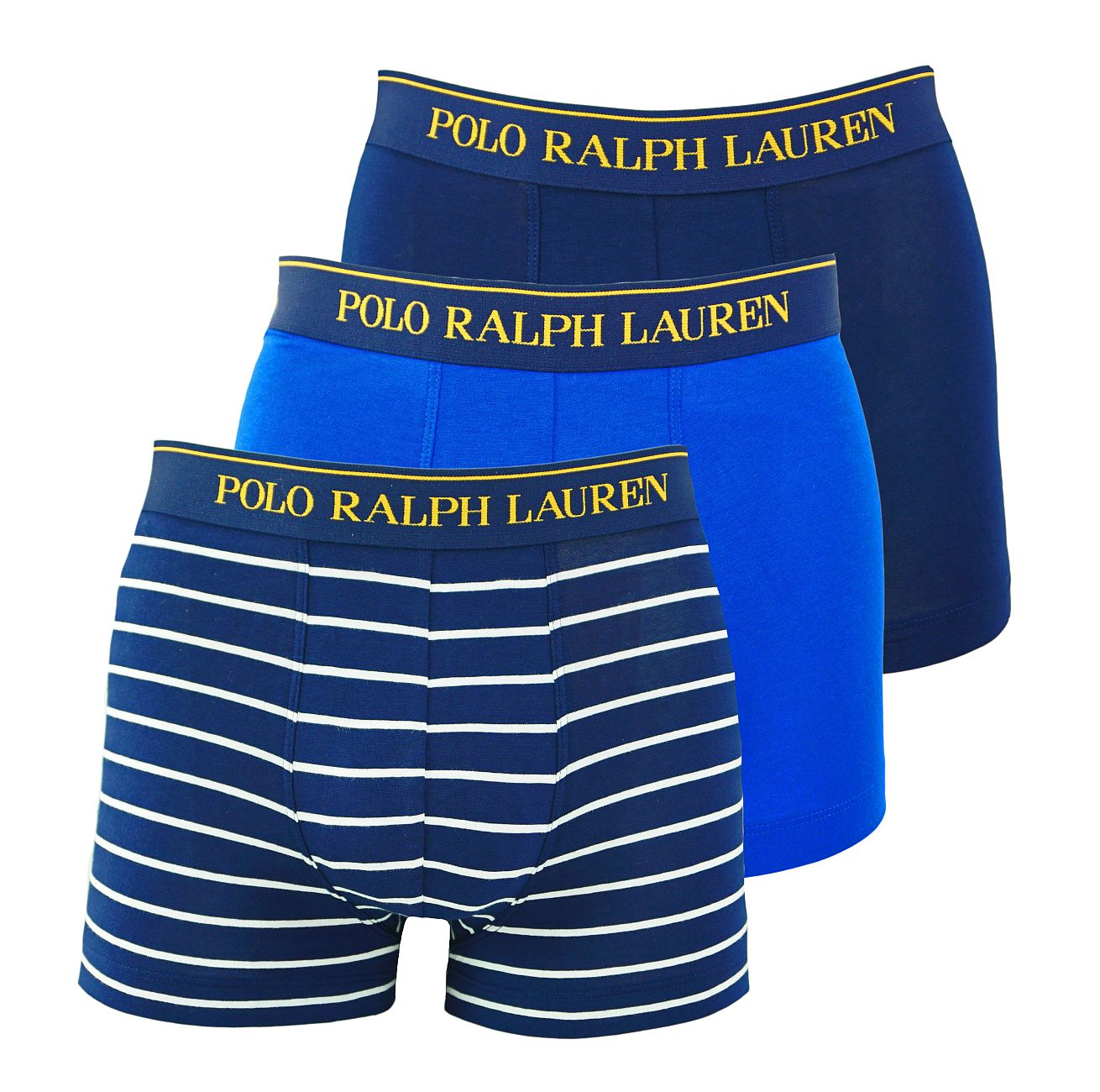 Ralph Lauren 3er Pack Classic Trunks Multicolor 714662050018 S18-RLT1