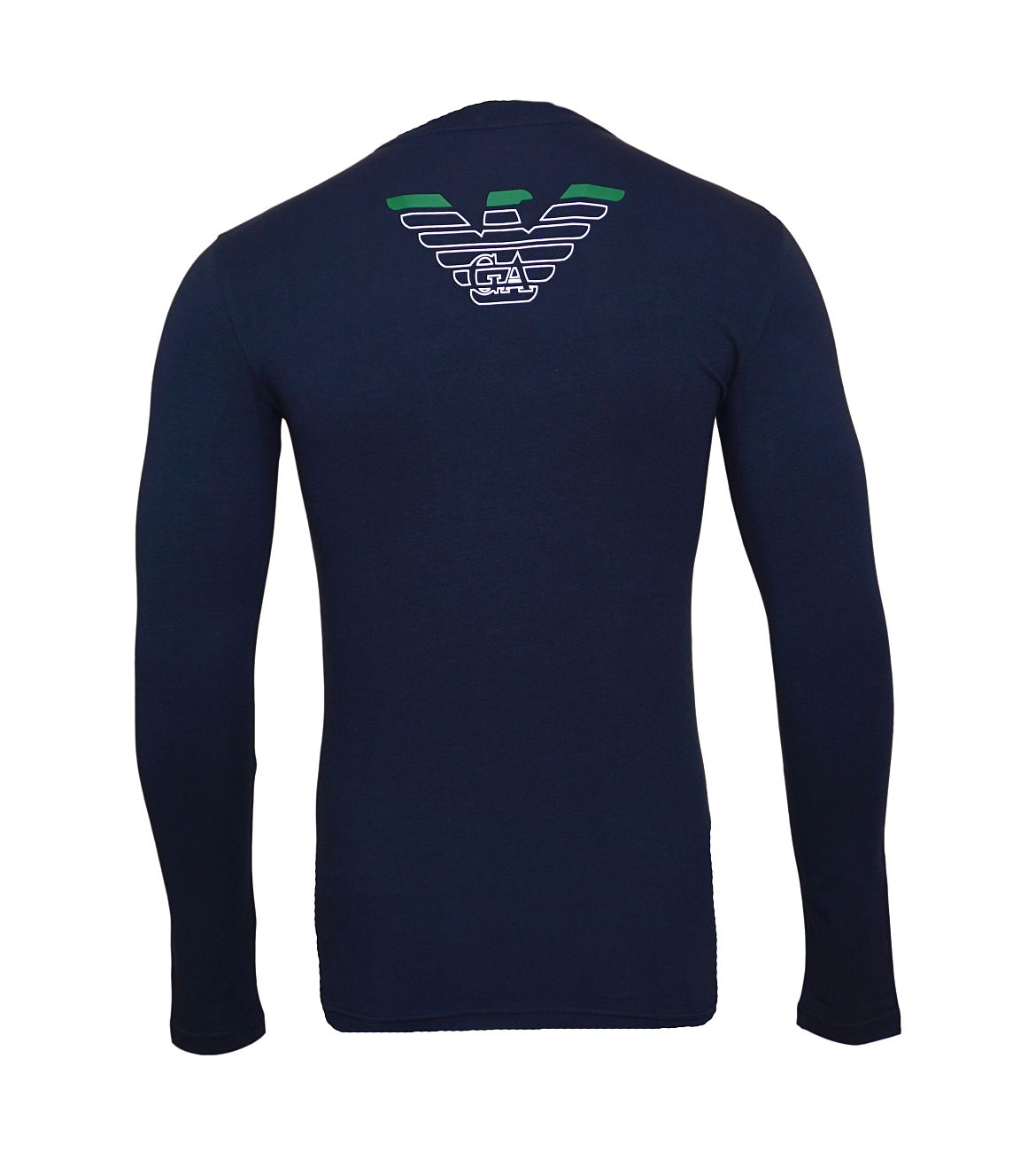 Emporio Armani Longsleeve Rundhals Shirt 111023 8A725 00135 MARINE WX18-EAL