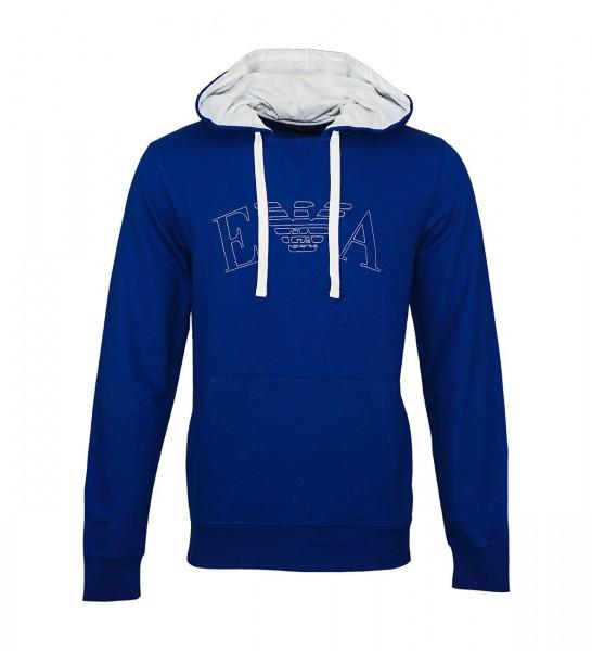 Emporio Armani Pullover Sweater Hooded 111753 9P571 15834 dunkelblau WF19-EAS1