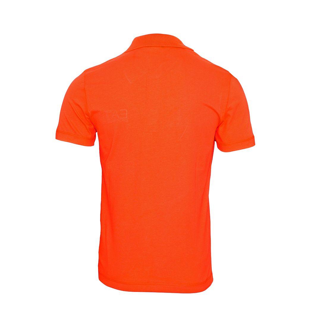 EA7 EMPORIO ARMANI Shirt Polohemd Poloshirt Polo rot 8NPF01 PJ48Z 1461 Poppy Red HW16
