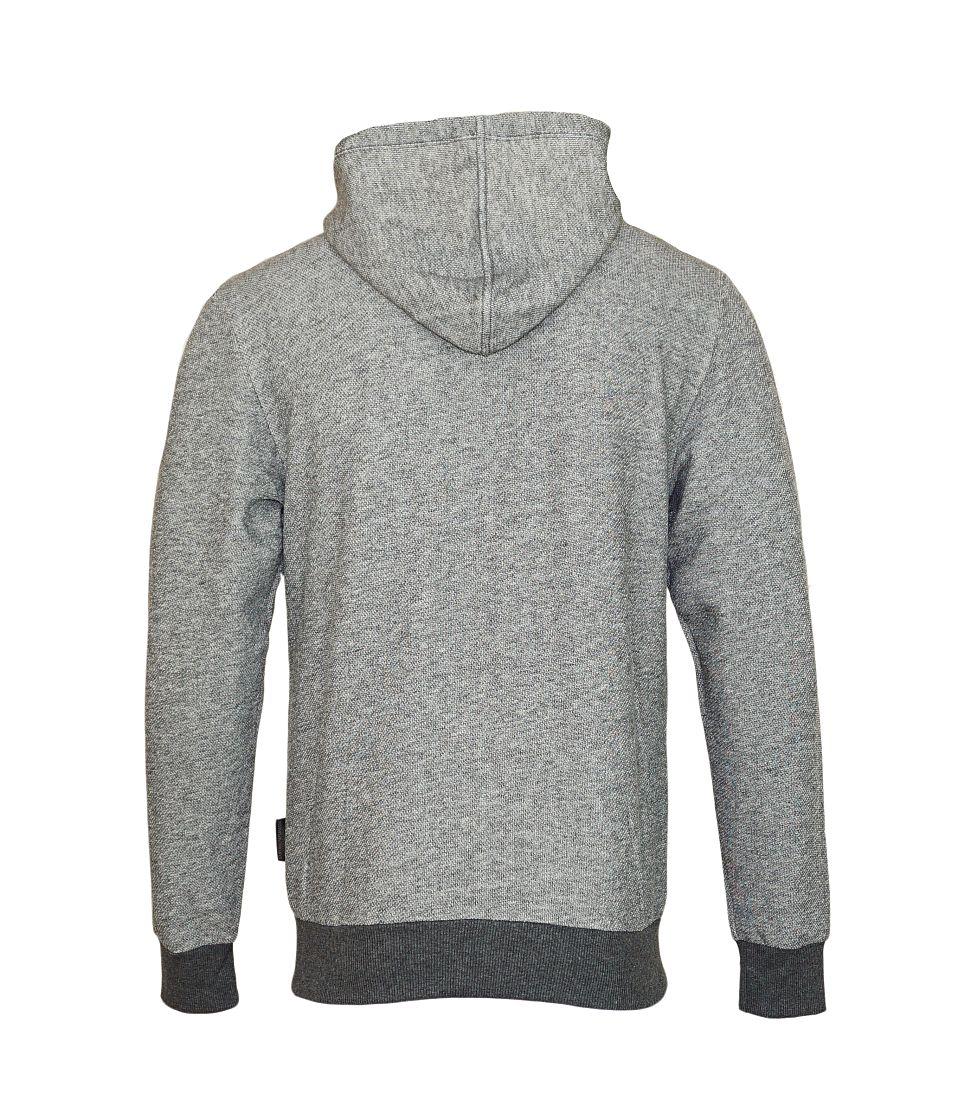 Emporio Armani Jacke Sweater Hooded 111666 7A575 00449 GRIGIO SCURO MELANGE SH17-EASW1