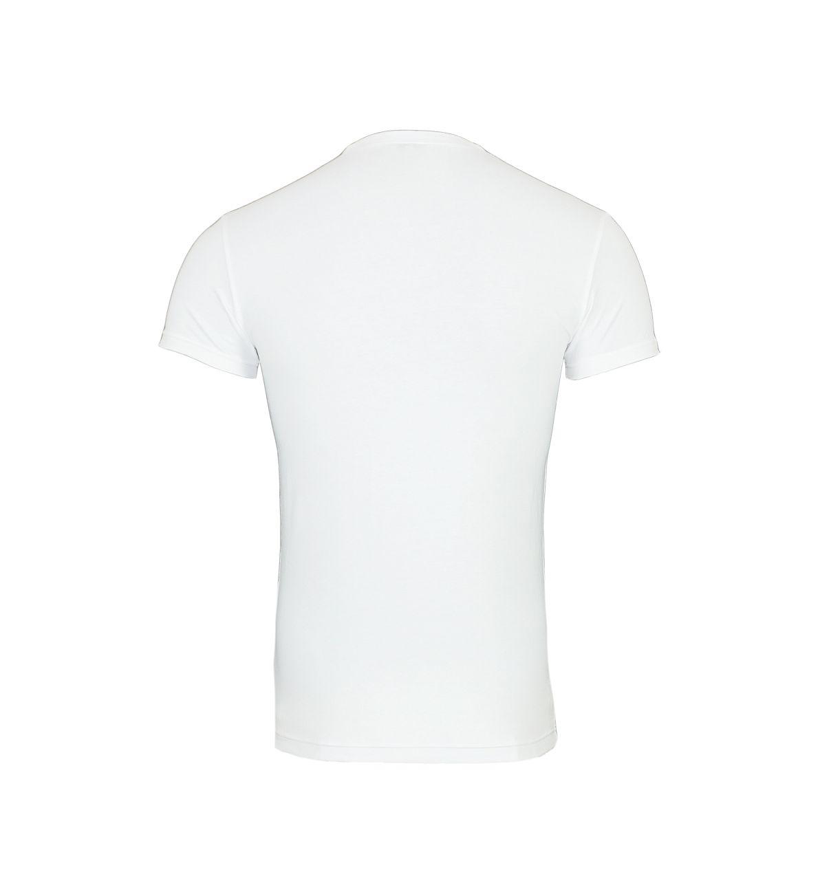 Emporio Armani T-Shirt Rundhals 111035 8P525 00010 BIANCO F18-EAT1