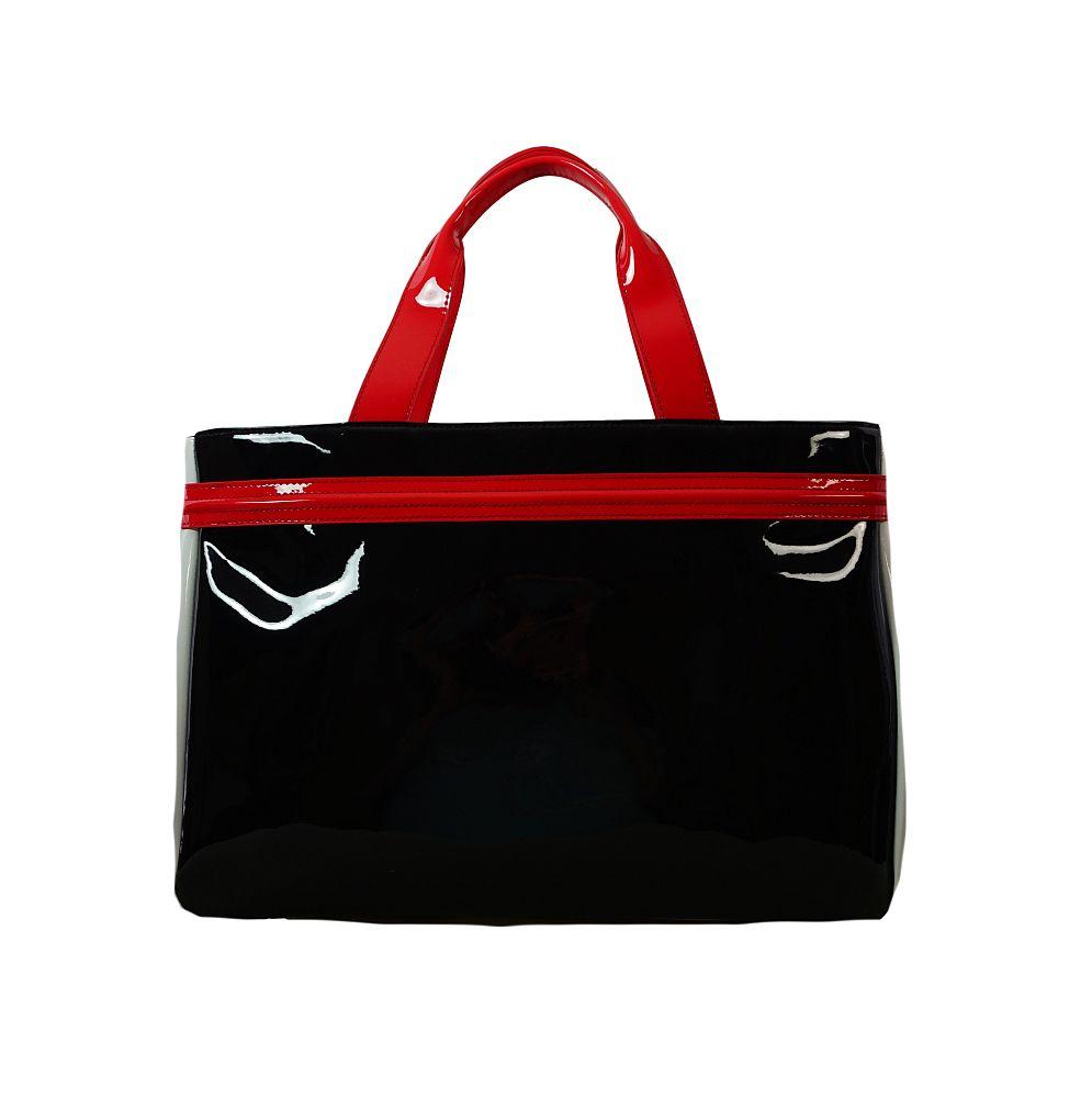 Armani Jeans Tasche Borsa Shopping 922548 CC852 45320 Nero Bianco Ge Handtasche S17-AJT1