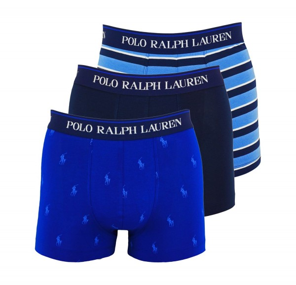 Ralph Lauren 3er Pack Trunk Shorts 71466205 0037 multicolor SH19-RL1