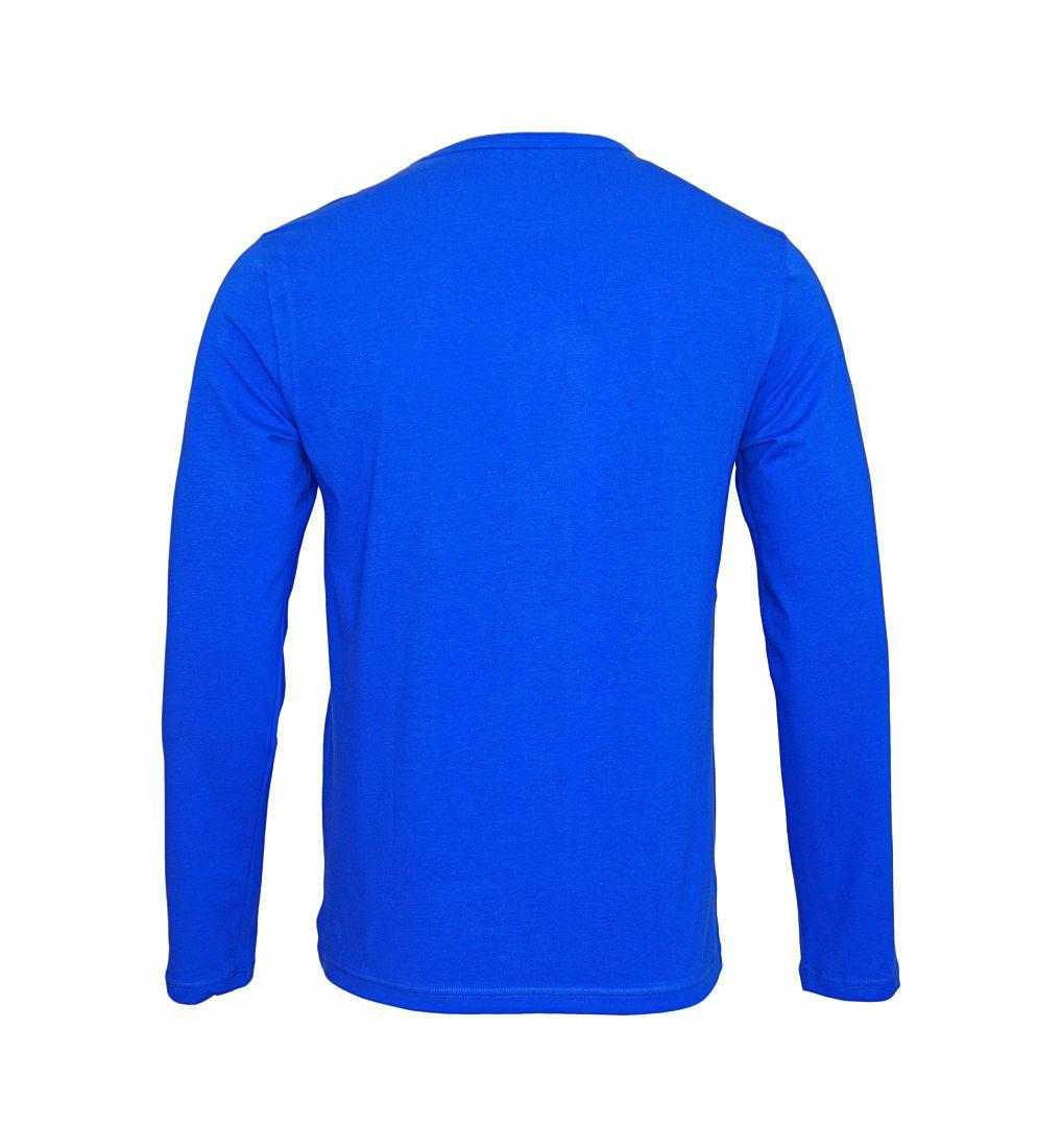 Emporio Armani Longsleeve Shirt Rundhals 111653 7A717 10233 BLU ELETTRICO SH17-EALS1