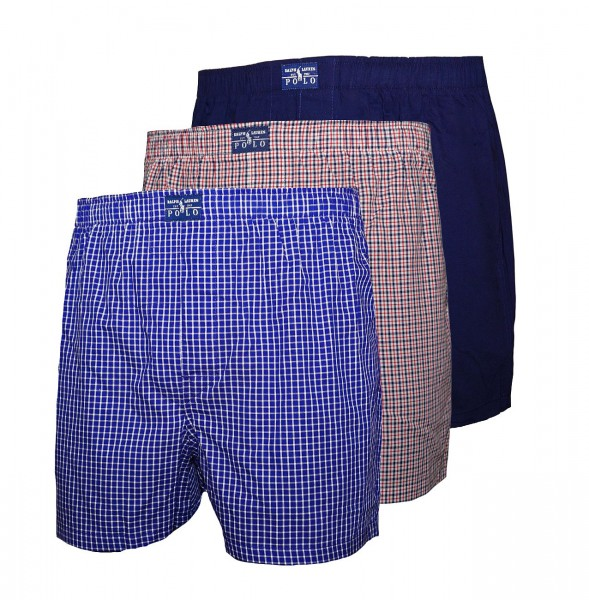 Ralph Lauren 3er Pack Boxershorts 71461086 4021 multicolor SH19-RL2