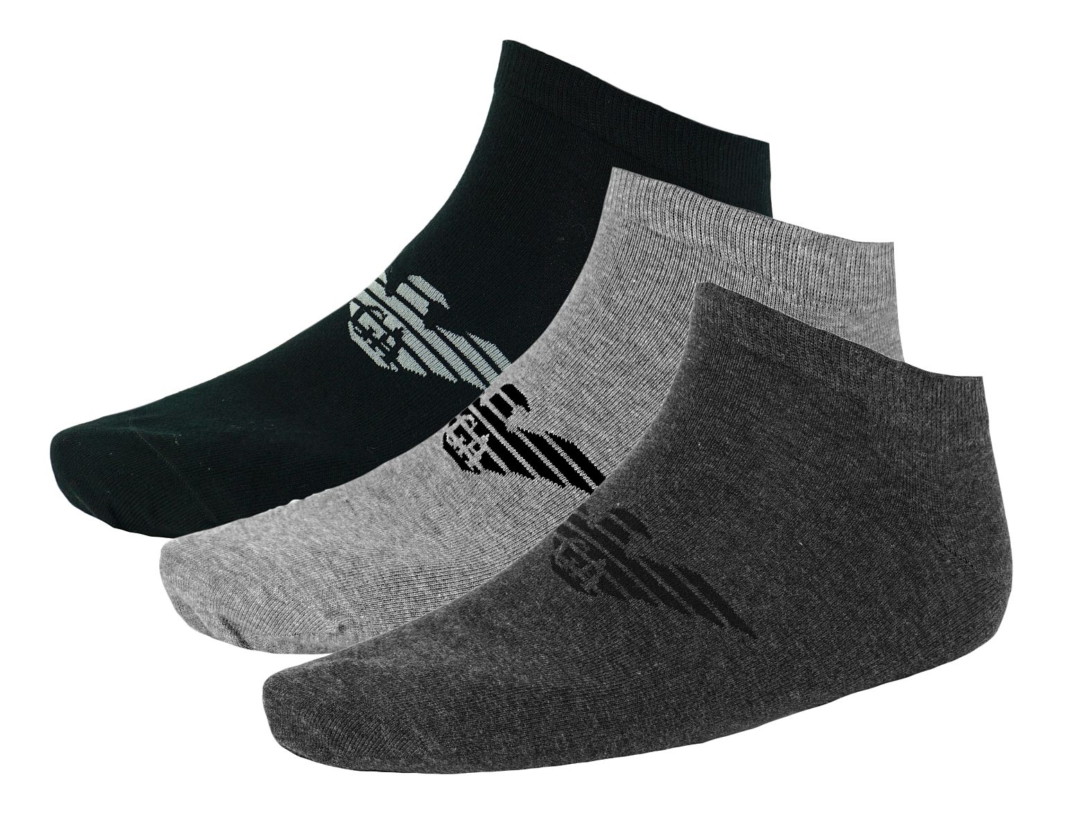 Emporio Armani 3er Pack Strümpfe Socken 8929BX Calza Inside 300008 7A234 07849 HW17-EAX1