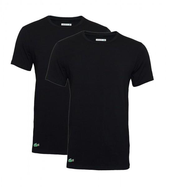 Lacoste 2er Pack T-Shirts Rundhals 148321 schwarz black