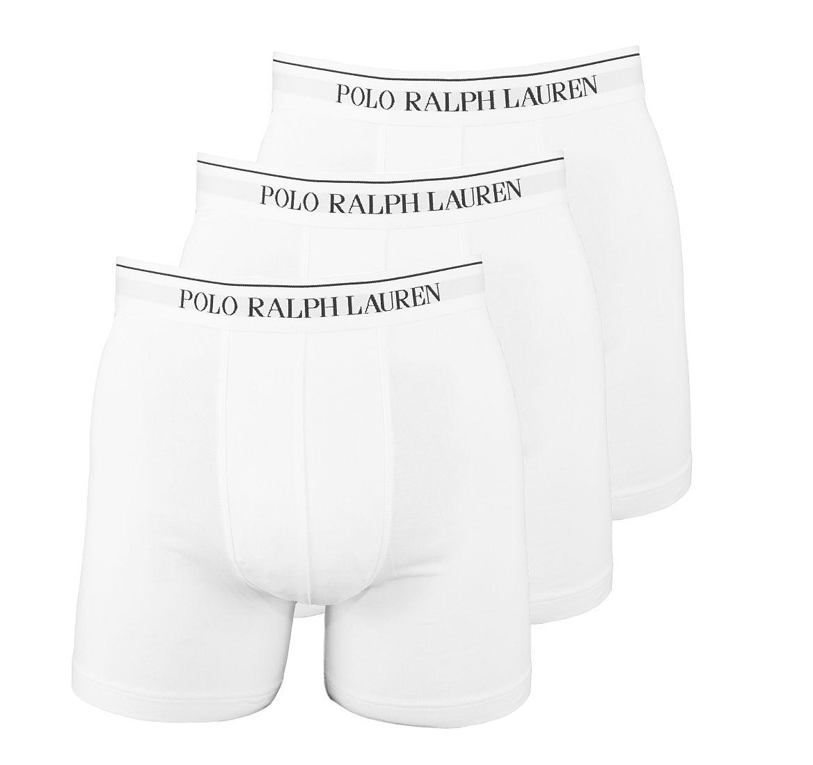 Ralph Lauren Boxershorts 3er Pack Boxer Briefs weiss SF17-RLB1