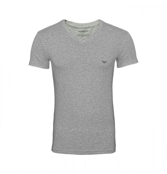 Emporio Armani T-Shirt V-Neck 110810 9P745 00048 hellgrau FS19-EAT1