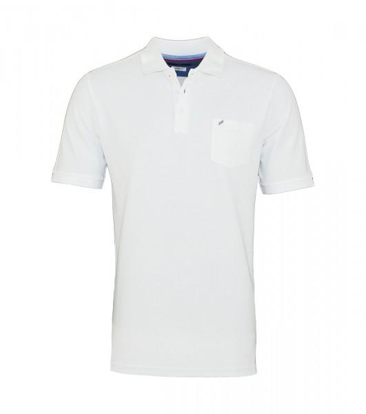 Daniel Hechter Poloshirt Polo T-Shirt 75028 191915 10 white WF19-DHP1