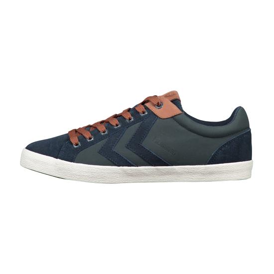 HUMMEL Schuhe Sneaker Low DEUCE COURT WINTER TOTAL ECLIPSE 64148 7364 HW16-12