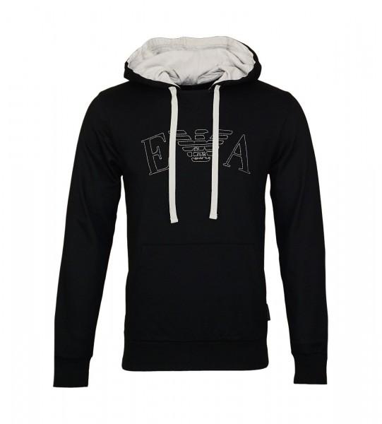 Emporio Armani Pullover Sweater Hooded 111753 9P571 00020 schwarz WF19-EAS1