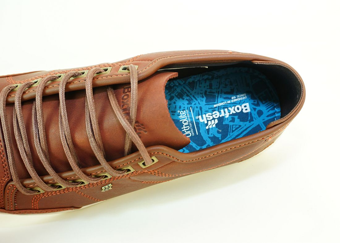 Boxfresh Schnürschuhe Schuhe Sparko Prem ICN ZMB LEA E-15196 Rus Sneaker SH17-BFS1