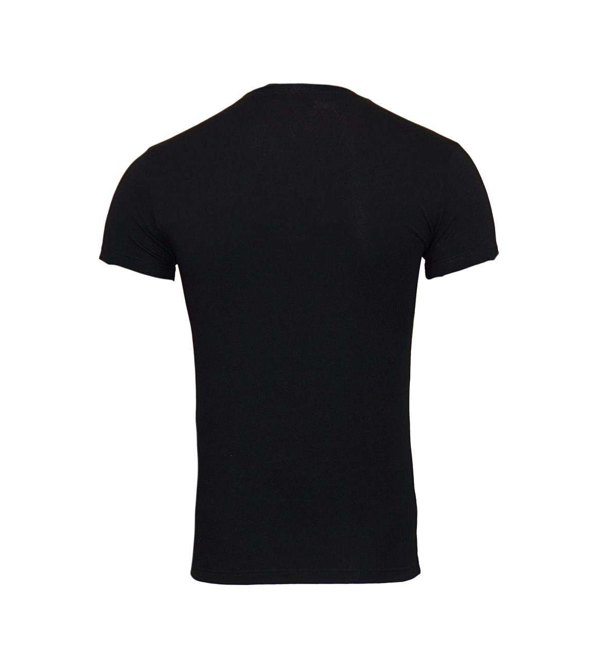 Emporio Armani T-Shirt Rundhals 111035 8P525 00020 NERO F18-EAT1