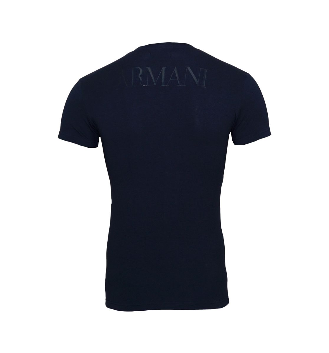 Emporio Armani T-Shirts V-Ausschnitt 110810 8P516 00135 MARINE W18-EATS1