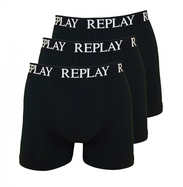Replay 3er Pack Boxershorts I101102-001 N011 schwarz SS19-RPB1
