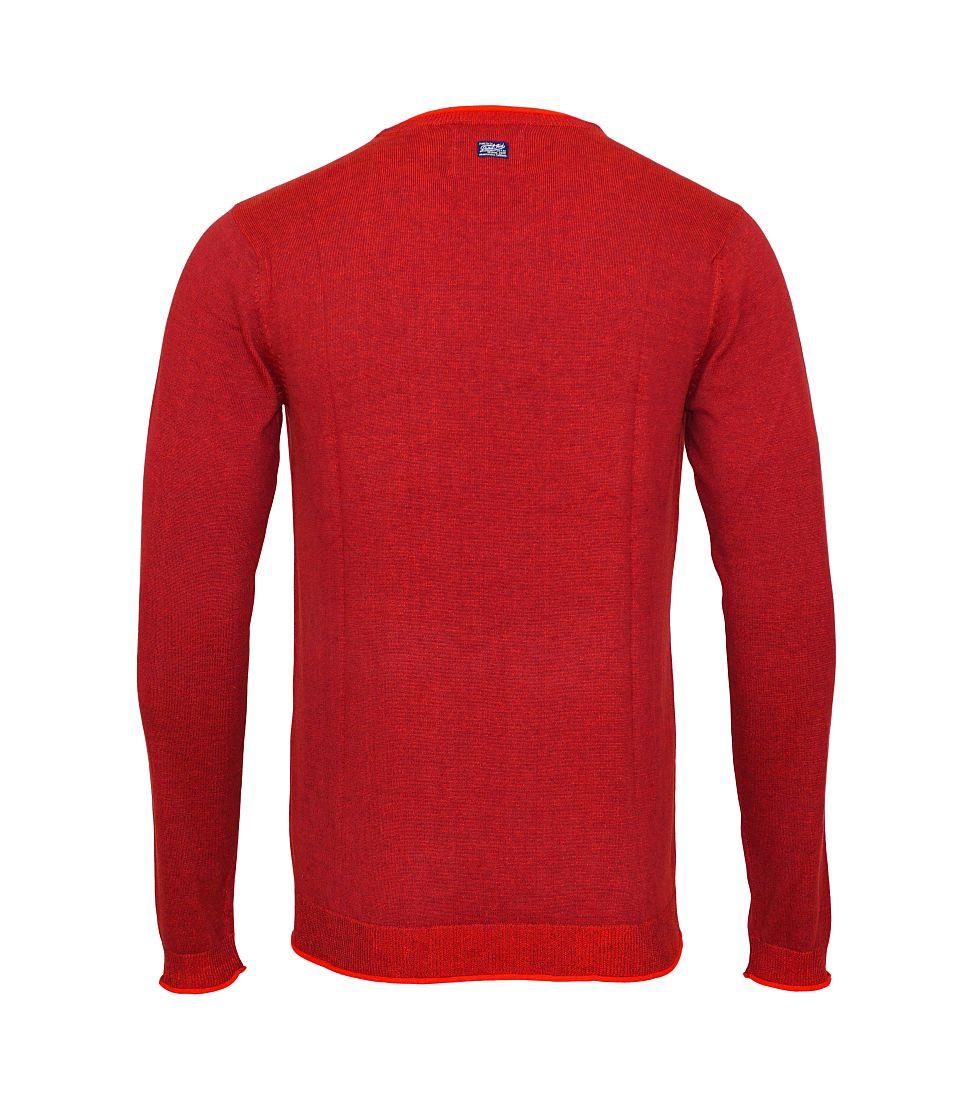 Petrol Industries Sweater Pullover Knitwear MFW16 KWV261 393 rot HW16-1SP