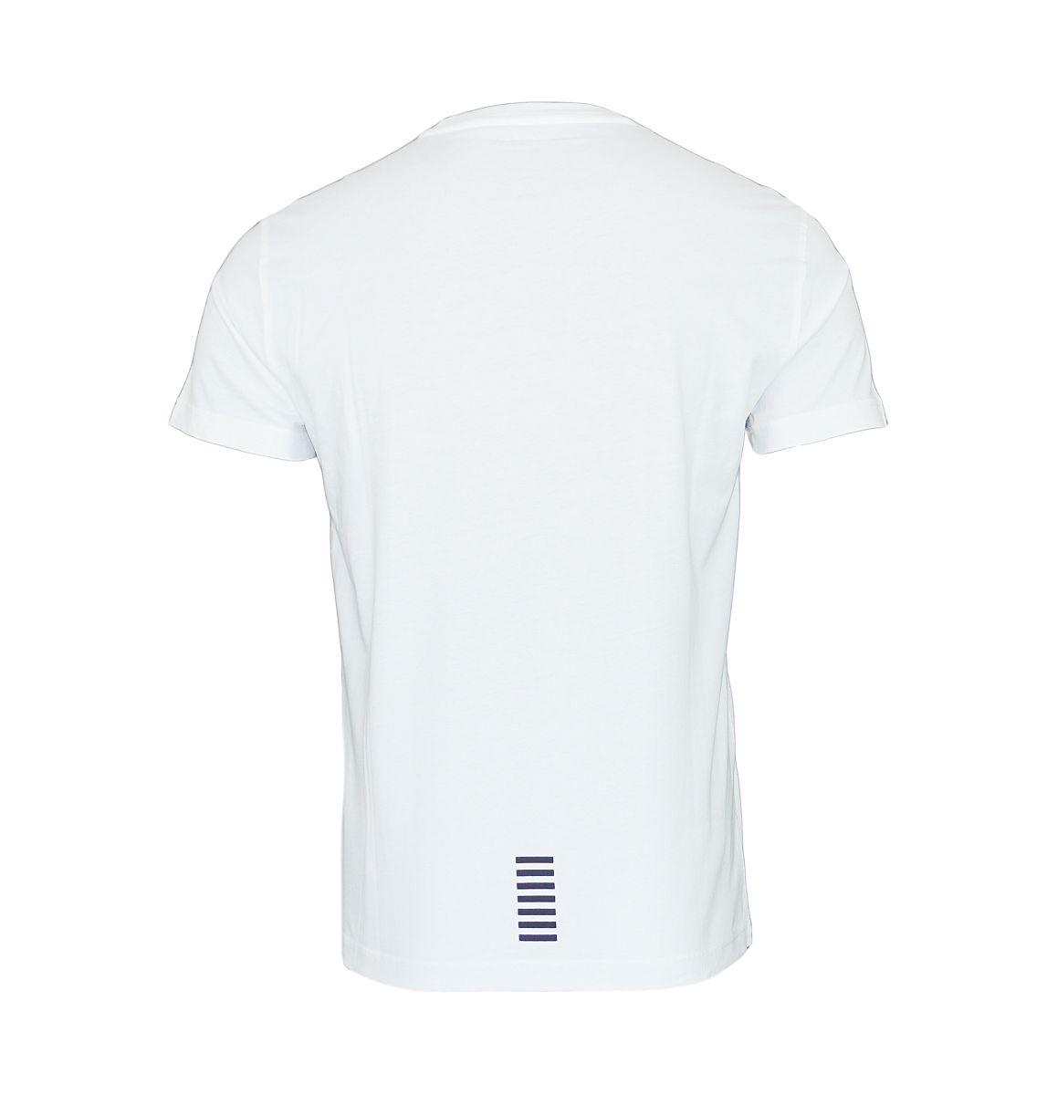 EA7 Emporio Armani Shirt T-Shirt 6YPT51 PJ30Z 1100 White HW17-EATS2