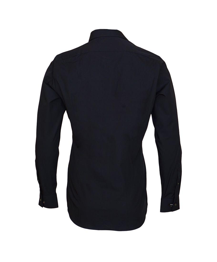 Strellson Businesshemd Hemd Herrenhemd Silas 10000206 001 schwarz SH17-STH1