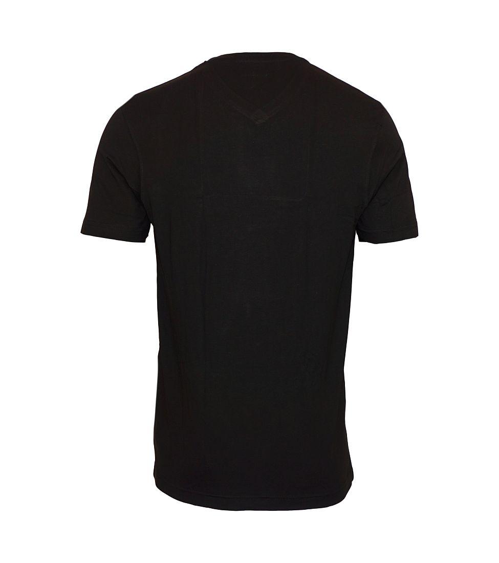 Daniel Hechter 2er Pack T-Shirts Shirts schwarz V-Ausschnitt 10284 472 90 HW16