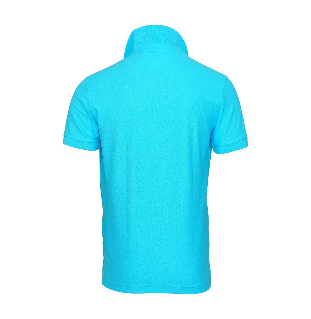 TOMMY HILFIGER Shirt Polohemd Poloshirt Polo hellblau 0857889198 491 TH16