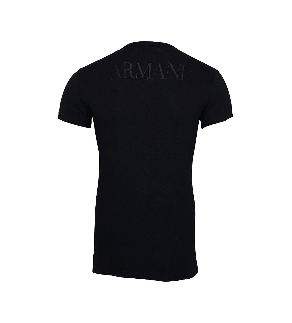 Emporio Armani Shirts T-Shirt 110810 CC716 00020 schwarz S17-EATX1