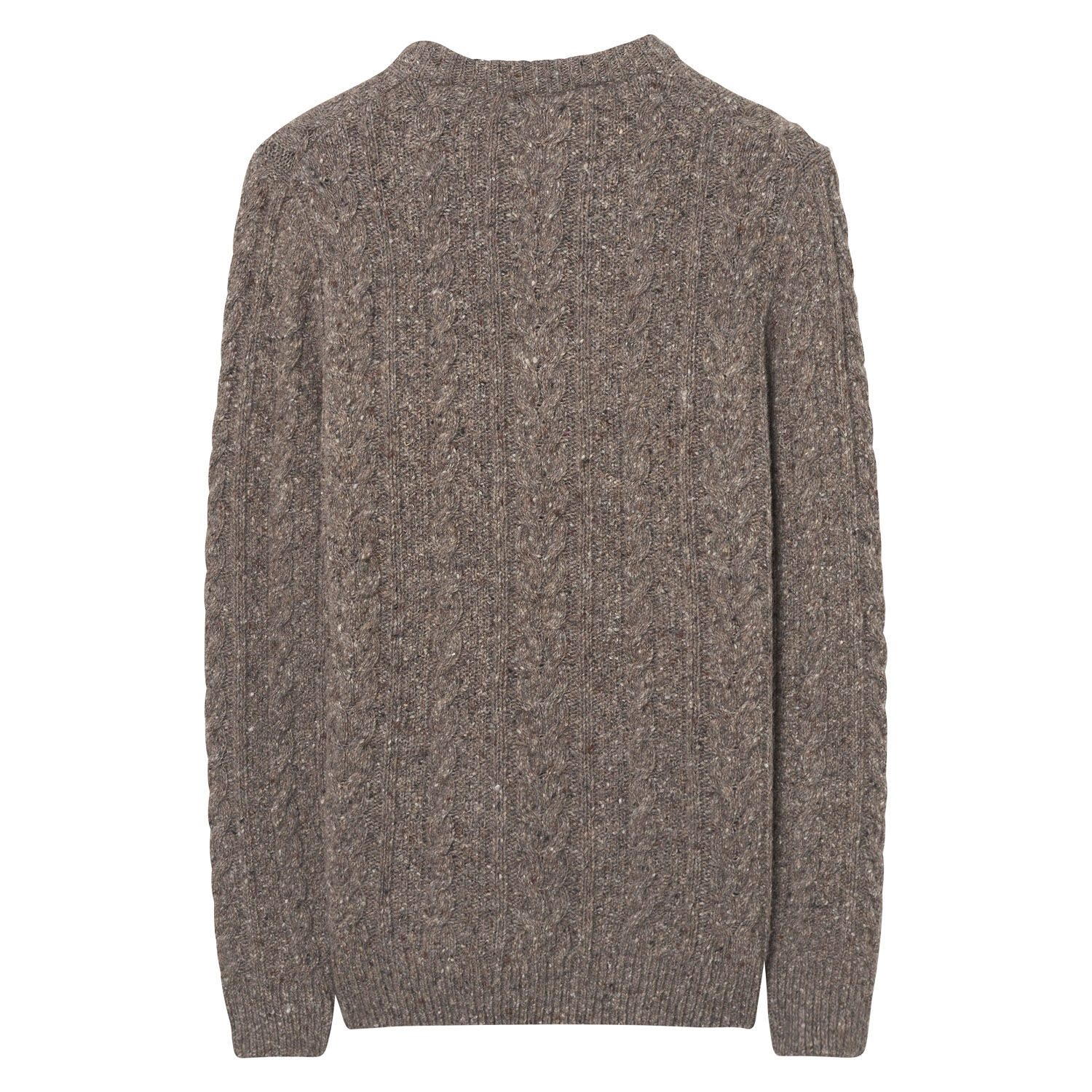 Gant Pullover Strickpullover O2. DONEGAL CABLE CREW 8040032 GREY MELANGE SH18-GS1