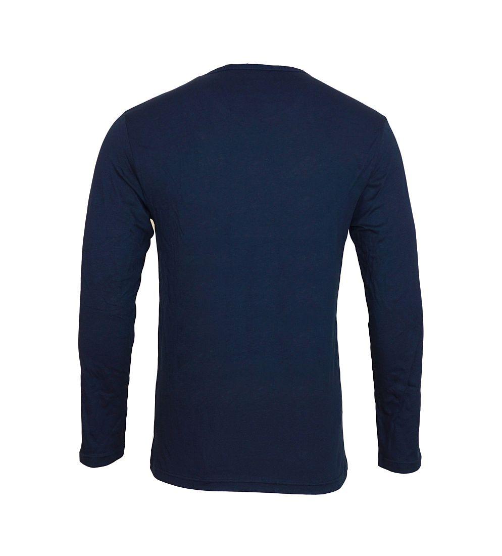 Emporio Armani Shirt Longsleeve KNIT SWEATER 111287 6A722 00135 MARINE HW16A1
