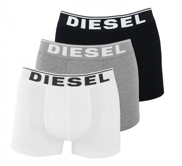 Diesel 3er Pack Boxer DAMIEN OJKKB E3843 schwarz, grau, weiss SS19-DB2