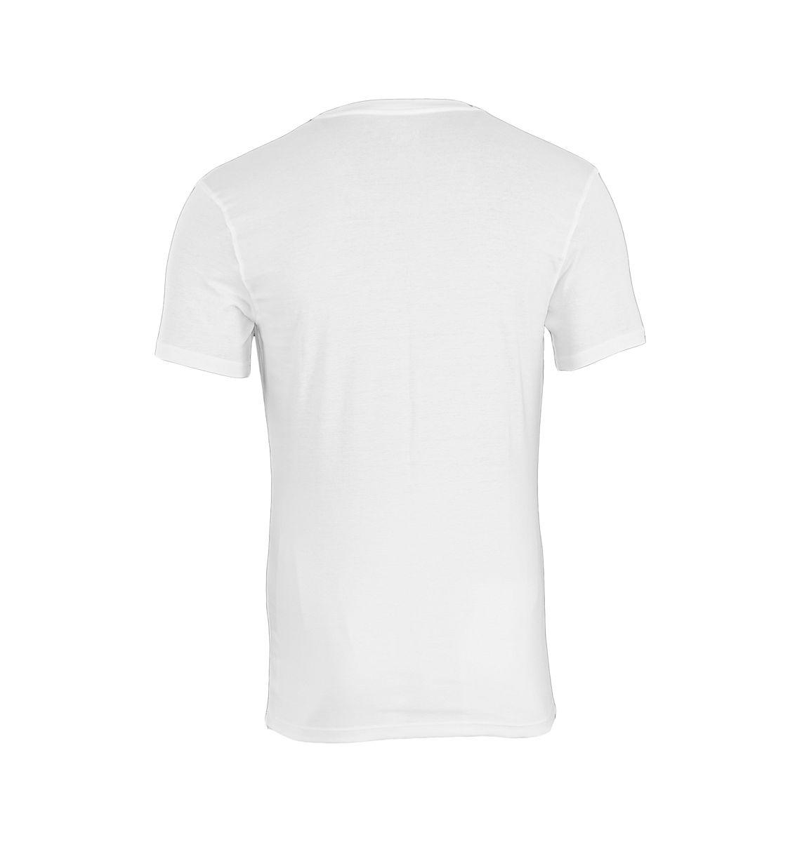 Calvin Klein T-Shirt Tee-Shirts CK16 U8322A Rundhals weiss