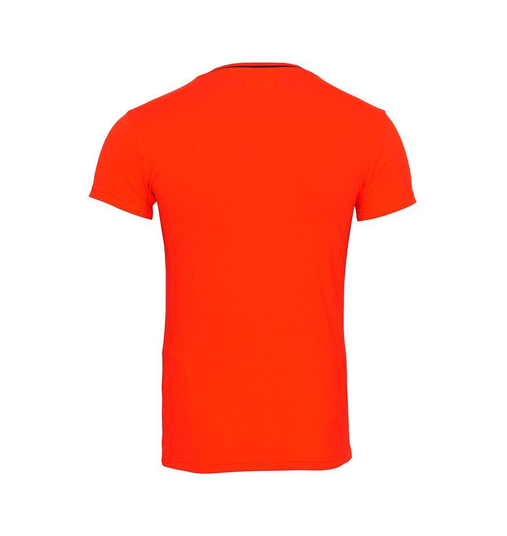 EMPORIO ARMANI T-Shirt Shirt V-Ausschnitt 110810 6A525 00074 ROSSO HW16