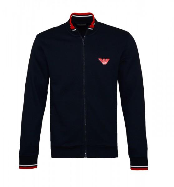 Emporio Armani Sweater Zipper 111532 9A571 00135 navy SH19-EAX3