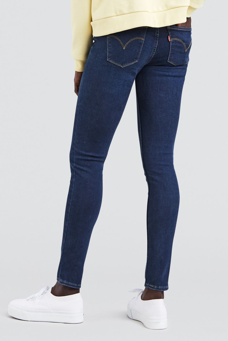 Levis Jeanshose Jeans 17780-0032 INNOVATION SUPERSKINNY ESSENTIAL BLUE W18-LJS1